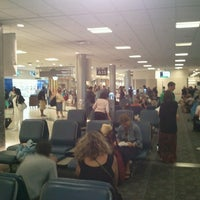 Photo taken at Concourse A by Jim R. on 7/22/2012