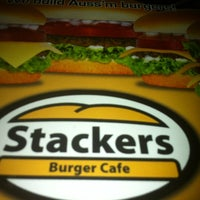 Photo taken at Stackers Burger Cafe by Nazryne M. on 9/6/2012