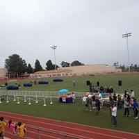 Photo taken at La Jolla High School Track by Sondra D. on 5/20/2012