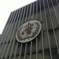 Photo taken at World Health Organization - Main Building by acevedo r. on 8/5/2012