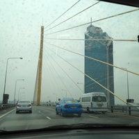 Photo taken at Rama IX Bridge by Pimporn R. on 3/11/2012