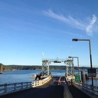 Photo taken at Orcas Island Ferry Terminal by David B. on 9/1/2012