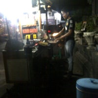 Photo taken at Sate gule kambing madura by Septian on 7/10/2012