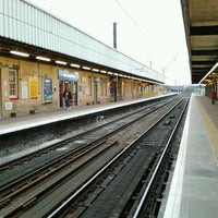 Photo taken at Warrington Bank Quay Railway Station (WBQ) by Hanafiah A. on 4/6/2012