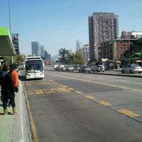 Photo taken at Paradero Escuela Militar by Manolillo G. on 8/8/2012