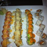 Photo taken at Tomodachi Sushi by Sam U. on 7/7/2012