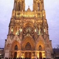 Photo taken at Our Lady of Reims by Marco G. on 12/10/2011