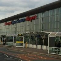 Photo taken at Liverpool John Lennon Airport (LPL) by Fernando D. on 5/6/2012