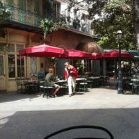 Photo taken at French Market Restaurant by Alex W. on 4/3/2011