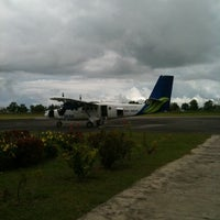 Photo taken at Mukah Airport (MKM) by Yangjie on 2/24/2012