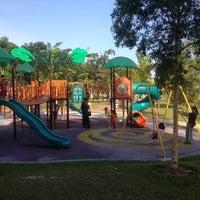 Photo taken at Taman Tasik Ampang Hilir by Rosse B. on 1/24/2012