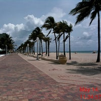 Photo taken at Hollywood Beach Boardwalk by Ivan B. on 5/14/2012