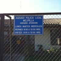 Photo taken at Ilustre Municipalidad De Melipilla by Francisco A. on 6/10/2011