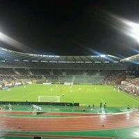 Photo taken at King Baudouin Stadium by Kristian T. on 9/6/2011