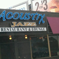 Photo taken at Acoustix Jazz Restaurant And Lounge by Lexcee W. on 8/1/2012
