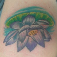 Photo taken at Funhouse Tattoo SD by Shannon S. on 9/18/2011