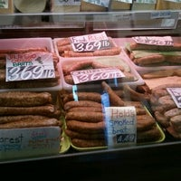Photo taken at Held's Meat Market by Michelle J. on 12/3/2011