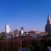Photo taken at Fairfield Inn & Suites New York Brooklyn by Gunner J. on 10/17/2011