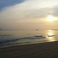 Photo taken at Pantai Puteri by Dak A. on 6/25/2012