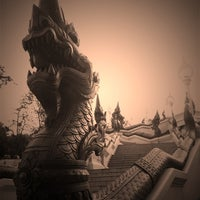 Photo taken at Wat Kaew Korawaram by Nuthinee T. on 12/5/2011