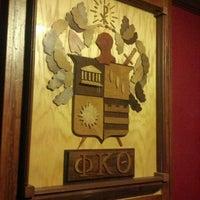 Photo taken at Phi Kappa Theta by John L. on 12/1/2011