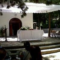 Photo taken at Santuario Schoenstatt Los Pinos by Nicolas H. on 11/20/2011