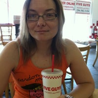 Photo taken at Five Guys by Chas F. on 7/9/2011