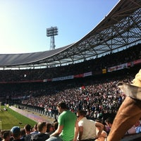 Photo taken at Stadion Feijenoord by Marvin P. on 3/11/2012