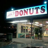 Photo taken at AK's Donuts by Darrell R. on 12/1/2011
