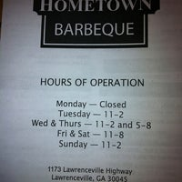 Photo taken at Hometown Barbeque by Beth K. on 7/6/2011