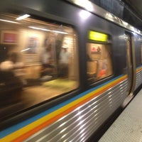 Photo taken at MARTA - Arts Center Station by Cara E. on 5/1/2012