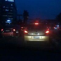 Photo taken at Perempatan Kuningan (Traffic Light) by aries f. on 10/26/2011