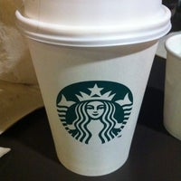 Photo taken at Starbucks Coffee by Angel R. on 1/10/2012