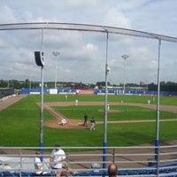 Photo taken at Pim Mulier Baseball Stadium by Tommie v. on 8/20/2011