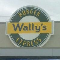 Photo taken at Wally's Burger Express by Kiosha B. on 12/21/2011
