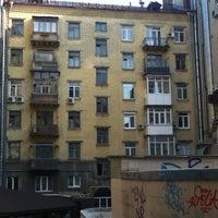 Photo taken at Єврейський дворик by Fil S. on 4/5/2012