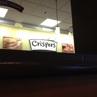 Photo taken at Crispers Fresh Salads, Soups and Sandwiches by Beau C. on 5/29/2012