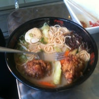 Photo taken at Ajisen Ramen by Dave W. on 2/13/2012