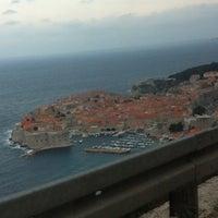 Photo taken at Dubrovnik Airport (DBV) by Bruno R. on 4/11/2012