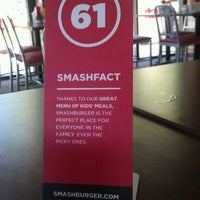 Photo taken at Smashburger by Tracy P. on 5/25/2012