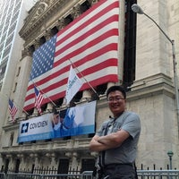 Photo taken at NYSE Euronext by Pius M. on 7/8/2012