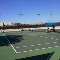 Photo taken at Mcfarlin Tennis Facility by Mary Ann F. on 2/11/2012