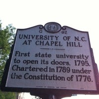 Photo taken at University of North Carolina at Chapel Hill by Derek B. on 4/15/2012