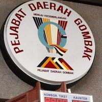 Photo taken at Pejabat Tanah Daerah Gombak by Akuma on 3/26/2012