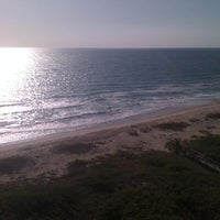Photo taken at Tiara Towers Private Beach by Kathi R. on 4/17/2012