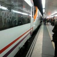 Photo taken at RENFE Passeig de Gràcia by René Á. on 2/29/2012