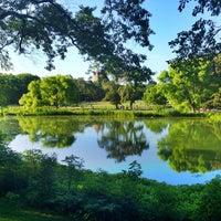 Photo taken at Central Park – Turtle Pond by Julie Q. on 6/15/2012