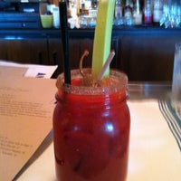 Photo taken at Angèle Restaurant & Bar by Erica J. S. on 7/15/2012
