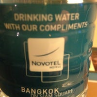 Photo taken at Novotel Bangkok on Siam Square by Gerard T. on 5/10/2012