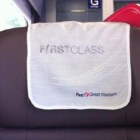 Photo taken at Swansea (SWA) to Paddington (PAD) Train by Alex A. on 5/29/2012
